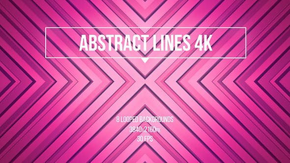 Thumbnail for Magenta Abstract Lines