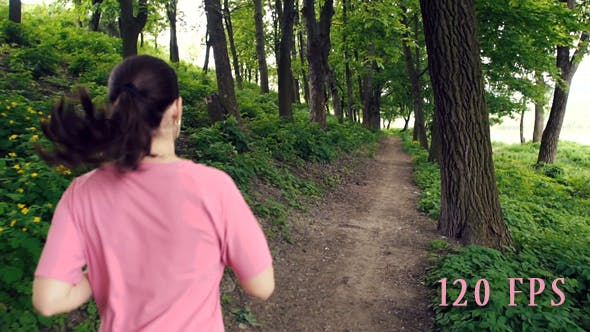 Thumbnail for Girl Runing In The Park