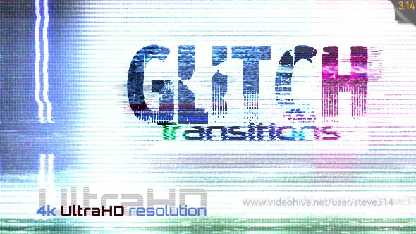Thumbnail for Glitch Transitions 4k