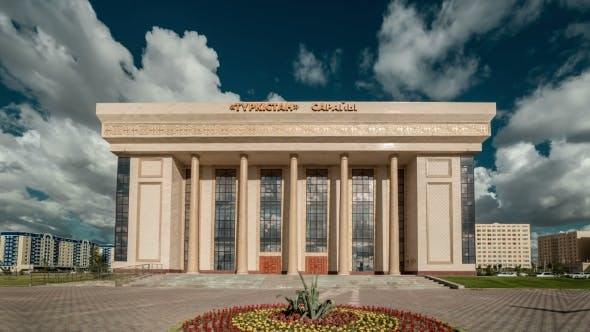 Thumbnail for Concert Hall Building Administrative And Business Center. Kazakhstan -