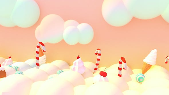 Thumbnail for Toon Sweet Candy World