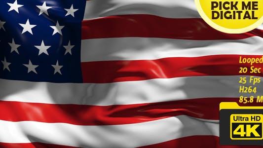Thumbnail for USA Flag