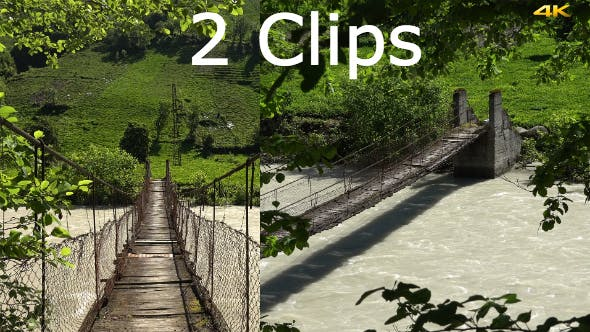 Thumbnail for Suspension Bridge (2 Clips)
