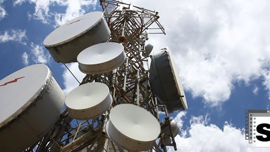 Thumbnail for Communication Antena Timelapse