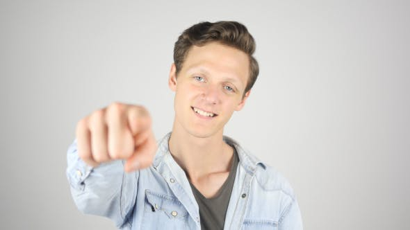 Thumbnail for Boy Pointing Finger toward Camera