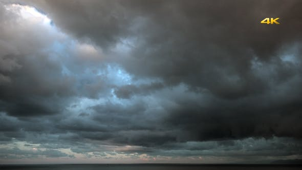 Thumbnail for Storm Clouds on the Sea