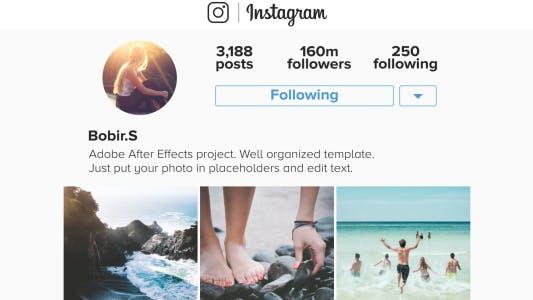 Thumbnail for Instagram Promo Mobile
