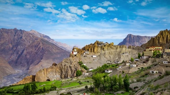 Thumbnail for Dhankar Gompa, India, Spiti Valley