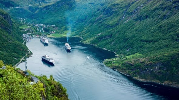 Cover Image for Geiranger Fjord, Norway.