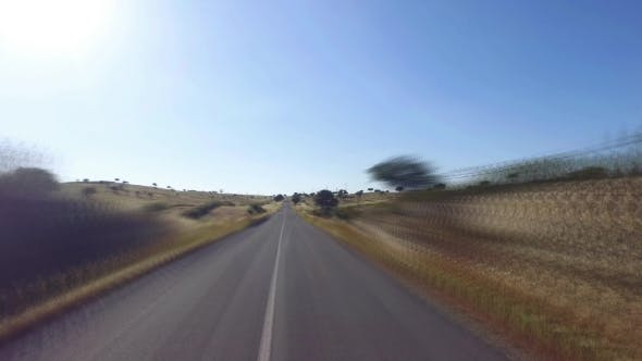 Thumbnail for Speedy Driving On a Road In Countryside