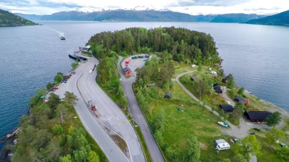 Thumbnail for Beautiful Nature Norway. Ferries' Cross.