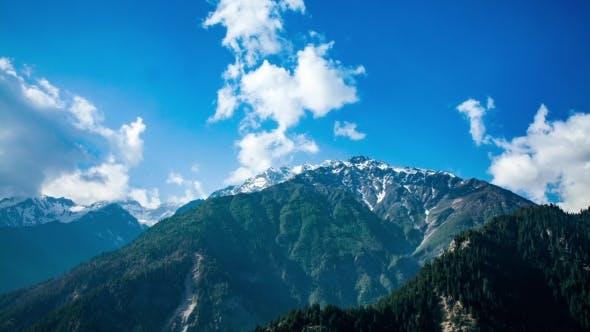 Mountain Landscape. Spiti Valley, Himachal Prade