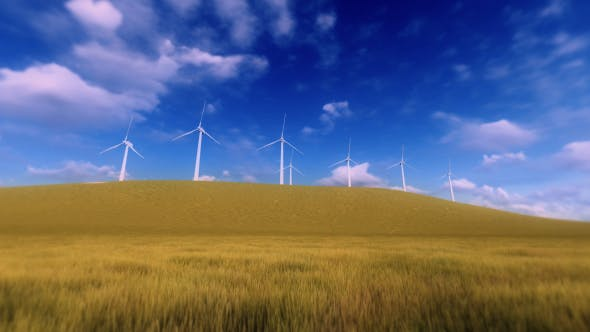 Thumbnail for Wind Power - Sunny Day