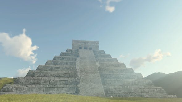 Thumbnail for 3D Kukulkan Pyramid Chichen Itza
