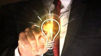 Business Idea | Concept Light Bulb