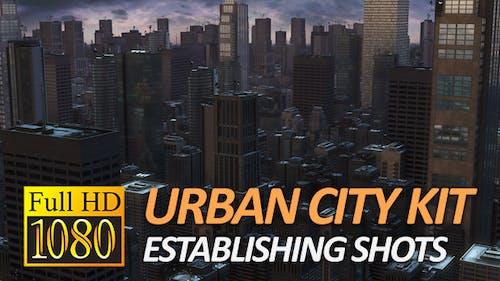 Urban City Pack - Establishing Shots (1080P)