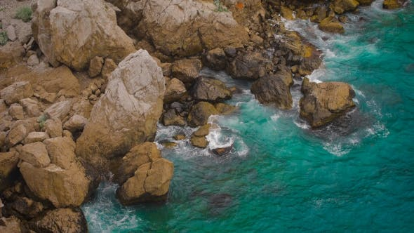Thumbnail for Waves Hitting The Sea Shore