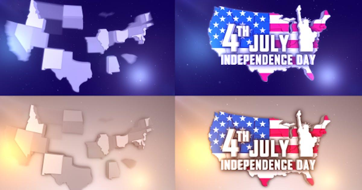 Download USA States Patriotic Logo by StrokeVorkz