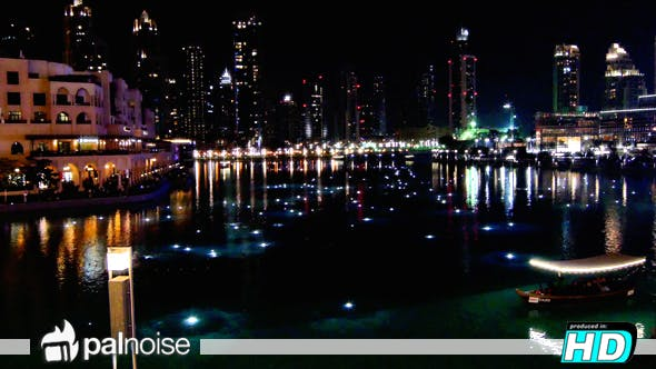 Thumbnail for Dubai Mall Fountain Night