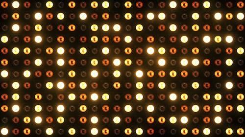 Wand der Lichter