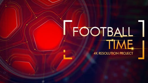 Football Time/ Action Promo Id/ Soccer Intro/ League of Champions/ World Cup/ Sport Broadcast