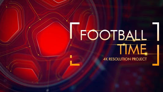 Thumbnail for Football Time/ Action Promo Id/ Soccer Intro/ League of Champions/ World Cup/ Sport Broadcast