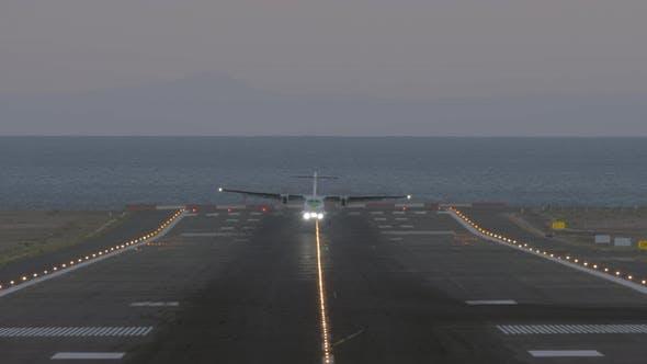 Thumbnail for Final Approach of Passenger Jetliner