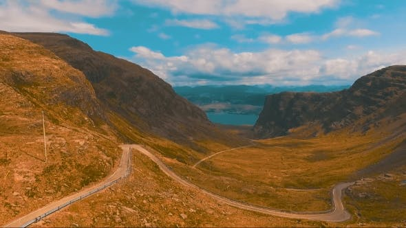 Thumbnail for Winding Road In The Mountains