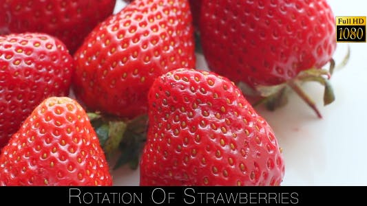 Thumbnail for Rotation Of Strawberries 4
