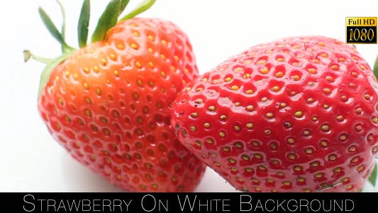 Thumbnail for Strawberry On White Background