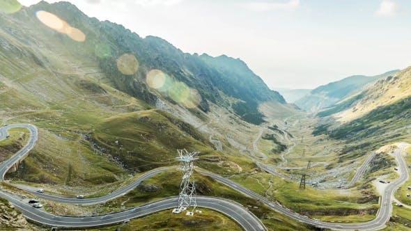 Thumbnail for Road Trip In Romanian Mountains On Transfagarasan 5