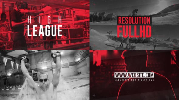 Thumbnail for High League Sport Template