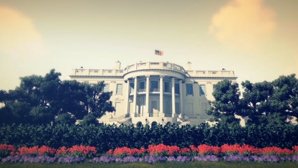 Thumbnail for 3D Realistic White House - Noon