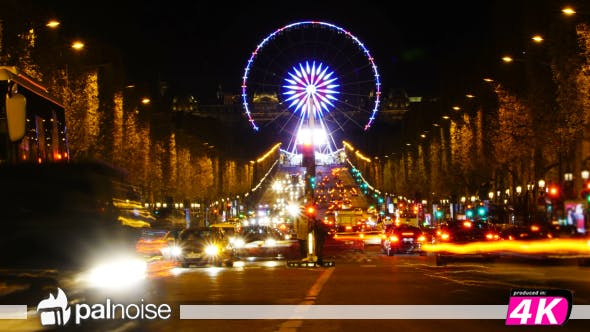 Thumbnail for Paris Ferry Wheels, Champs Elysees