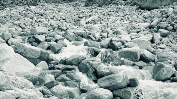 Thumbnail for Mounain River Flows On Rocks