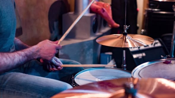 Cover Image for Playing Drums