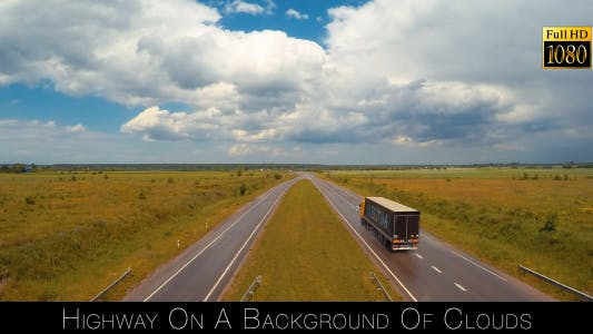 Thumbnail for Highway On A Background Of Clouds 5