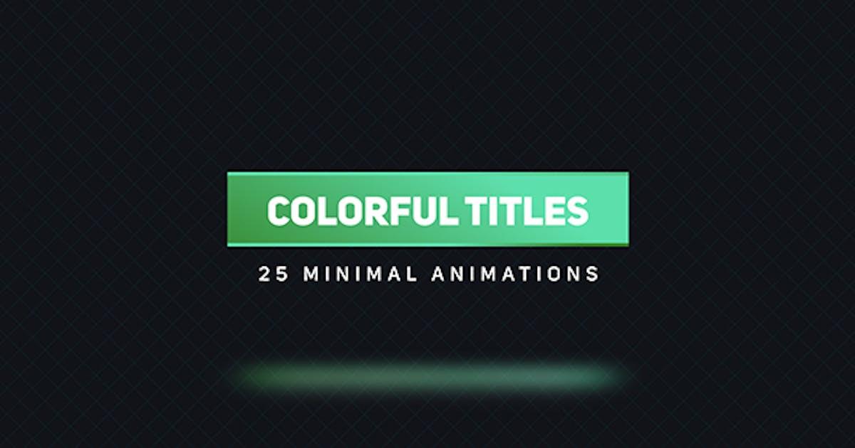 Download Colorful Titles 2 by aliyarmikayilov