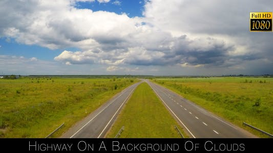 Thumbnail for Highway On A Background Of Clouds 7