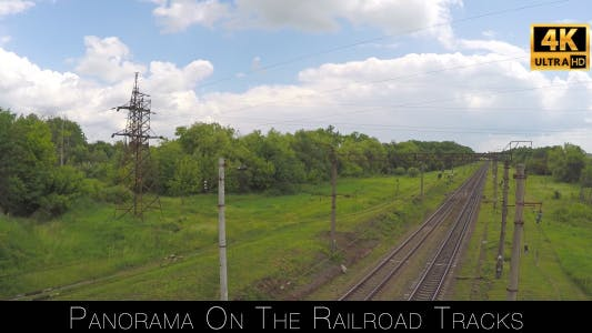 Thumbnail for Panorama On The Railroad Tracks