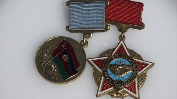 Thumbnail for Soviet Afghanistan War Participant Badges