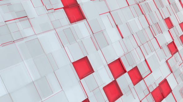 Thumbnail for Abstract Gray, Red And Pink Squares Background
