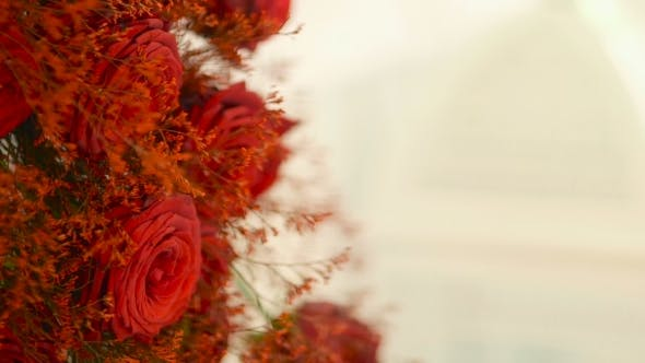 Thumbnail for Bouquet Of Red Roses - Wedding Decoration