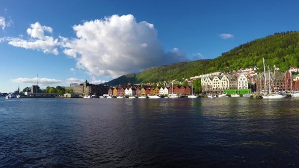 Thumbnail for Port Of Old Hanseatic In Bergen, Norway