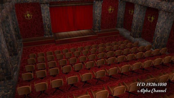 Thumbnail for Theatre - Curtain Open