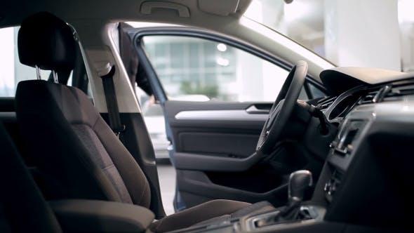 Thumbnail for Customer Inspecting Car Interior