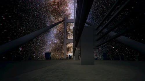 Milkyway Timelapse Bosphorus Bridge Istanbul