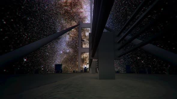 Thumbnail for Milkyway Timelapse Bosphorus Bridge Istanbul