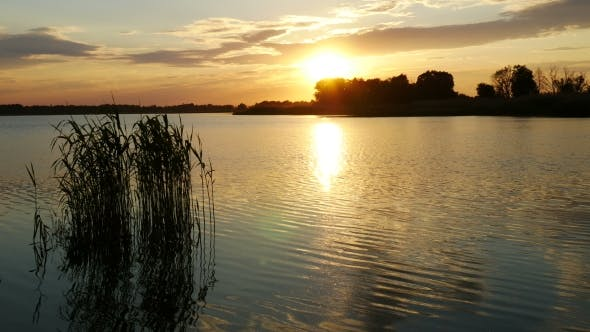 Thumbnail for Sunset Over The River