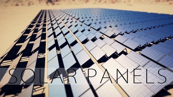 Thumbnail for Solar Panels - Desert
